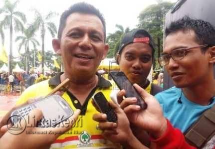 Ketua Dewan Pimpinan Daerah (DPD) I Provinsi Kepulauan Riau, Ansar Ahmad