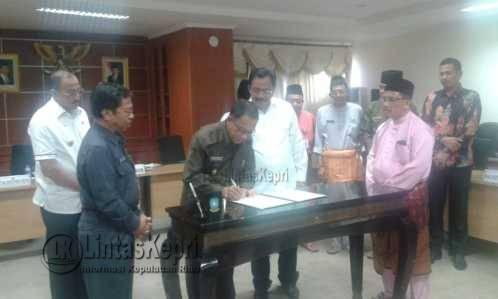 Kabupaten Kota Sepakati Ranperda RTRW