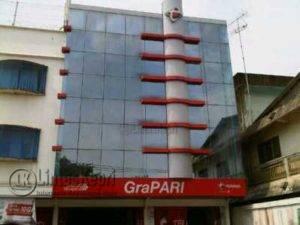Kantor Grapari Telkomsel Tanjungpinang di Jalan Basuki Rahmat Kota Tanjungpinang.