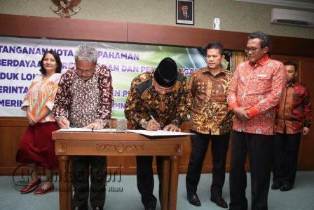Tekan Harga Pangan, Tanjungpinang Gandeng Kulonprogo dan Sleman dalam bentuk kerjasama (MoU).