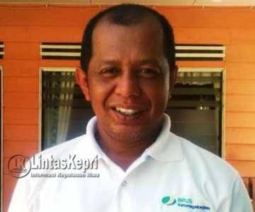 Kepala BPJS Ketenagakerjaan Tanjungpinang, Jefri Iswanto.