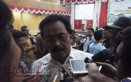 Gubernur Kepri, Nurdin Basirun.